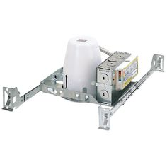 """4"""" 13W Standard PL New Construction Housing, Magnetic, 120V Only"""