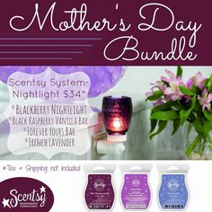 Spoil Mom with a gift that she will LOVE!!! www.carischlie.scentsy.us