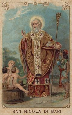 Dec 6th St Nicholas - pray for us