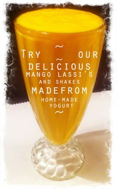 the Mango Lassi is so good! You must try it!