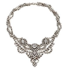 Dannijo Vala Clear Crystal Necklace, $414 Beautiful and elegant Swarovski crystal necklace. Celebrity fans include Rosie Huntington-Whiteley and Fergie!