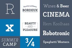 Decour - Decour is a Slab Serif typeface that features low contrast between thick and thin strokes and whos. Slab Serif Fonts, Serif Typeface, Thick And Thin, Wine And Beer, Art Deco Design, Lowercase A, Typography, Letters, Contrast