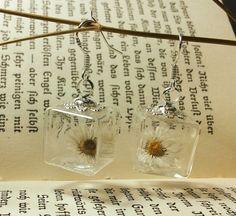 Elfen-Ohrringe *Gänseblümchen*