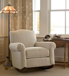 plowhearth.com: USA-Made Bedford Collection Upholstered Cottage Rocker (36929) $599.95  Jan 2016