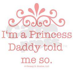 :) Daddy's little girl.