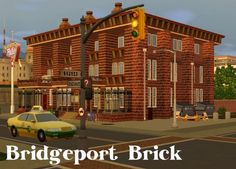 Bridgeport Brick Apartment by fairycake89 - Sims 3 Downloads CC Caboodle