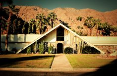 A-Frame Home in Palm Springs