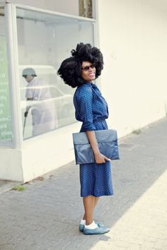on the streets in south africa #naturalhair #afro #beauty