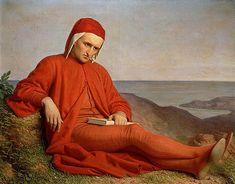 Dante no exílio, 1860 Domenico Peterlini (Itália, 1822-1891) óleo sobre tela Palácio Pitti, Florença