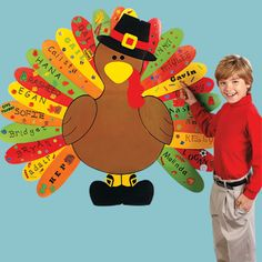 Decorate your classroom door on pinterest classroom door for Turkey template for bulletin board