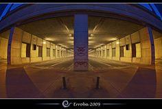 Tunnel vision @ Brussels, Belgium :: Long Exposure :: Fisheye