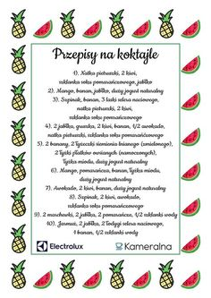 Koktajle przepisy na koktajle smoothies The post Koktajle przepisy na. Koktajle przepisy na koktajle smoothies The post Koktajle przepisy na koktajle smoothies appeared first on fitness. Breakfast Smoothie Recipes, Smoothie Drinks, Smoothie Diet, Workout Smoothie, Detox Tee, Healthy Cocktails, Smoothies For Kids, Exotic Food, Clean Eating Snacks