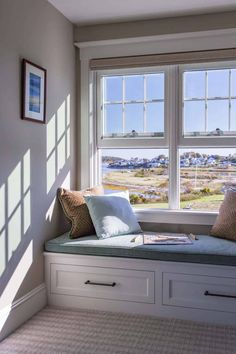 Olson Lewis + Architects designed this beachside dream cottage for a busy family, set in the charming coastal town of Ipswich, Massachusetts. Living Area, Living Spaces, Ipe Decking, White Tile Backsplash, Cozy Corner, Indoor Outdoor Living, Architect Design, Seaside, Home And Family