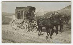 Una carrozza in Basilicata. Foto del 1915.