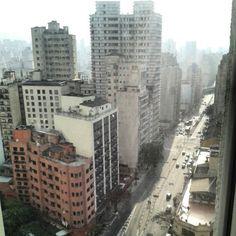 Final de tarde em São Paulo, Brasil