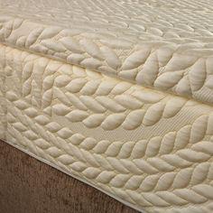 Latex-Matratzenaufsatz - The Best Latex Mattresses Latex Mattress, Ottoman, Chair, Decor Ideas, Organic, Furniture, Home Decor, White People, Mattress