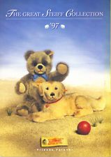 STEIFF COLLECTION 1997 CATALOGUE - TEDDY BEARS PLUSH SOFT TOY ANIMALS etc VG CON