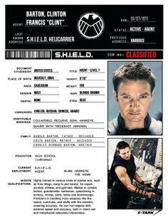S.H.I.E.L.D. Profile: Clint Barton