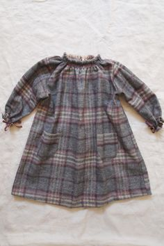 Smocking Dress Cotton Flannel