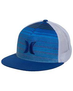 f897873a93d Hurley Mens Trunks Trucker Hat New Blue MHA0000450MRBOS ECKLUND MOTORSPORTS Mens  Trucker Hat