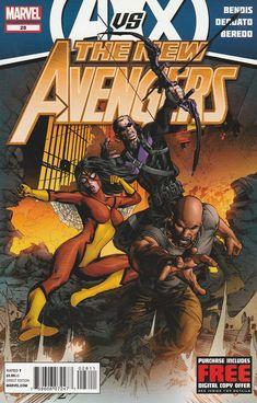 The New Avengers # 28 Marvel Comics Vol 2
