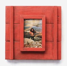 Rustic Picture Frame, Southwestern Wood Frame, Wall Frame, Custom Picture Frame, Rustic Home Handmade Picture Frames, Rustic Picture Frames, Picture On Wood, Craftsman Paintings, Picture Frame Projects, Southwestern Home Decor, American Flag Art, Rustic Pictures, Picture Holders