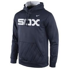 nike white sox pullover