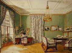 biedermeier furniture pic from www.art-prints-on-demand.com