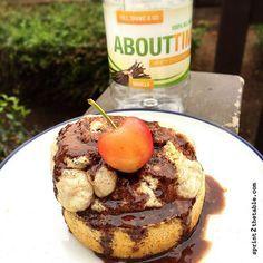 Cinnamon Roll Protein Mug Cake [Recipe] - Sprint 2 the Table