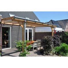 Veranda lariks met PVC kraalgoot Pext.nl