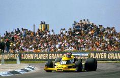 "Débuts de la Renault turbo en F1 à Silverstone en 1977 : ""the yellow tea"