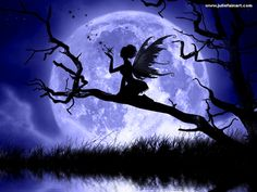 Moon+Fairy+Silhouette+Clip+Art | Fadas, Fairy Wallpapers