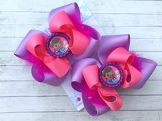 Hey, I found this really awesome Etsy listing at https://www.etsy.com/listing/213178744/doc-mcstuffins-bows-doc-mcstuffins
