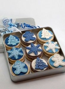 Christmas Shortbread Cookies by Sweet  Isabelle