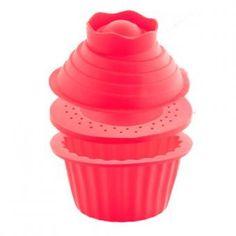 Súper Muffin 3 Pzs Multicolor Queen Sense