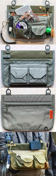Fly Fishing Accessories 87098: Kafly Chest Pack For Fly Fishing (Foliage Green) -> BUY IT NOW ONLY: $59.95 on eBay!