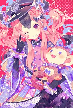 Manga Anime Girl, Kawaii Anime Girl, Anime Chibi, Manga Art, Anime Art, Kawaii Chibi, Kawaii Art, Anime Romans, Dengeki Daisy Manga