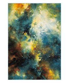 Blue Galaxy Hedi Rug