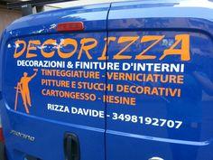 Decorazione furgone #adesivo #decal #shop #automezzo #decorazione