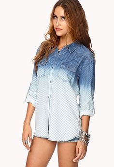 Ombre shirt love it.......forever 21