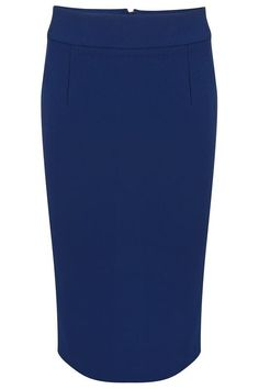 Very Cherry - Classic pencil skirt Blue - Strakke rokken - Rokken & Broeken - Kleding