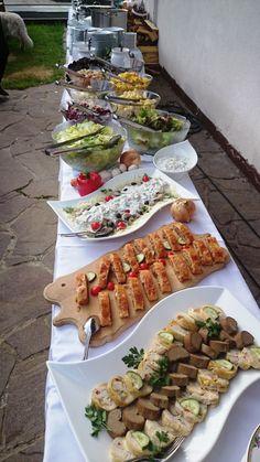 Vorspeisen-und Salatbuffet zum Grillabend auf der Strohsackhütte in Bad Kleinkirchheim, Kärnten. www.almrausch.co.at