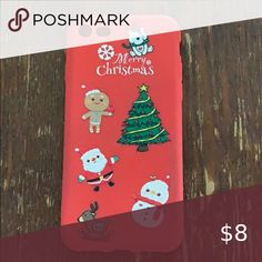 Christmas iphone 8 phone case Christmas iphone 8 phone case Slightly worn Accessories Phone Cases Merry Christmas, Christmas Ornaments, Iphone 8, Congratulations, Phone Cases, Holiday Decor, Closet, Accessories, Things To Sell