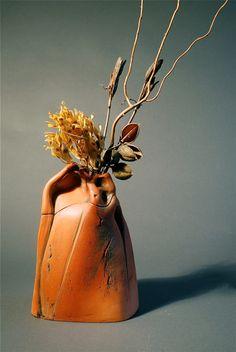 Alice Ballard, red earthenware
