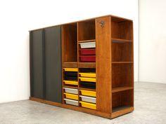 Charlotte Perriand & Le Corbusier / wardrobe, 1956-59