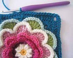 Irish crochet &: CROCHET FLOWER. LOTUS ... ЛОТОС КРЮЧКОМ
