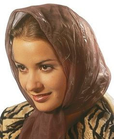 Rain Bonnet, Rain Wear, Raincoat, Classy, Brown, Womens Fashion, How To Wear, Plastic, Silk