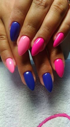 Untitled - #nails #stiletto #stilettonails #nail