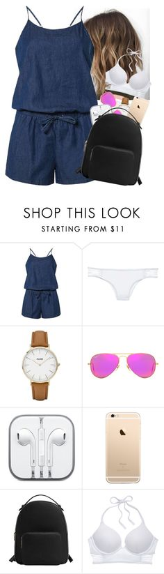 """""""Lake House."""" by pao-rj ❤ liked on Polyvore featuring Dorothy Perkins, Victoria's Secret, CLUSE, Ray-Ban, CO and MANGO"""