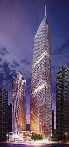 Wilshire Grand by AC Martin Partners, Los Angeles, USA  © AC Martin Partners  Click on the picture for more!